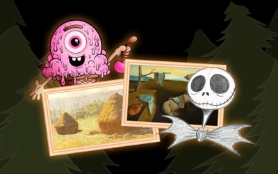 October is Full of Creepy, Kooky, Mysterious & Spooky Artists!