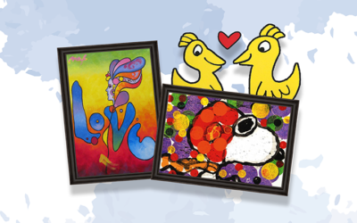 November at SoH is Full of Bright and Colorful Pop Artists!