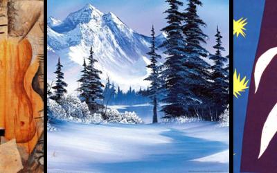 December is full of celebration of ARTISTIC STYLES!
